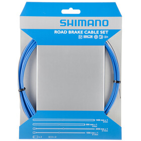 Shimano Road Kit cavo freno SIL-TEC rivestito, blue